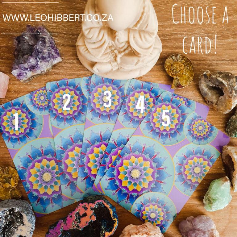 Choose a Card www.leohibbert.co.za Jan 2021